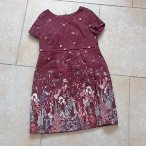 Zara fitted dress size 8 fits size 6 to 7